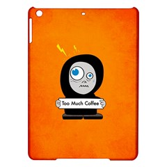 Orange Funny Too Much Coffee Apple Ipad Air Hardshell Case