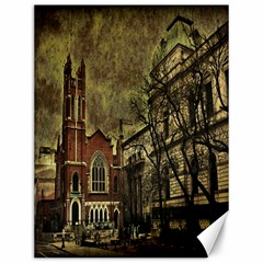Dark Citiy Canvas 12  X 16  (unframed) by dflcprints