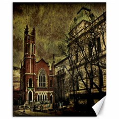 Dark Citiy Canvas 16  X 20  (unframed) by dflcprints
