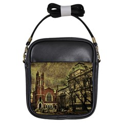 Dark Citiy Girl s Sling Bag by dflcprints