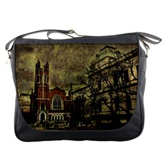 Dark Citiy Messenger Bag by dflcprints
