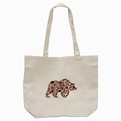 Animal By Divad Brown   Tote Bag (cream)   T4md3x4xbcbd   Www Artscow Com Front