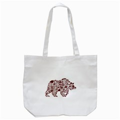 Animal By Divad Brown   Tote Bag (white)   H75rl4t4htaz   Www Artscow Com Front