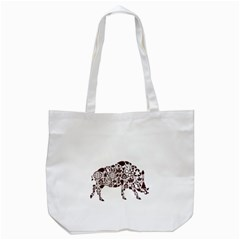 Animal By Divad Brown   Tote Bag (white)   X83pftwn0tf8   Www Artscow Com Front