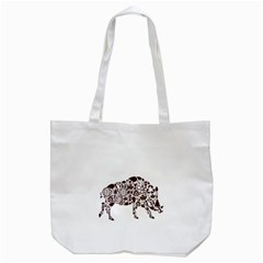 Animal By Divad Brown   Tote Bag (white)   X83pftwn0tf8   Www Artscow Com Back