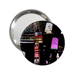 New York City at Night Handbag Mirror (2.25 ) by stineshop