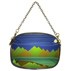 Landscape  Illustration Chain Purse (Two Sided)  by dflcprints