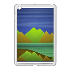 Landscape  Illustration Apple Ipad Mini Case (white)