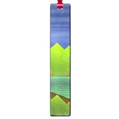 Landscape  Illustration Large Bookmark by dflcprints