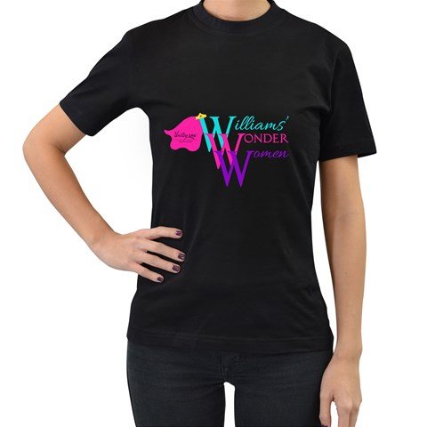 By Beth Williams   Women s T Shirt (black)   21361ws6t1jw   Www Artscow Com Front