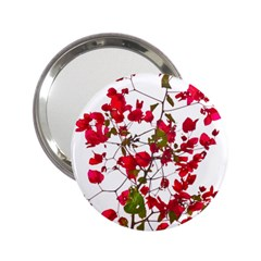 Red Petals Handbag Mirror (2.25 ) by dflcprints