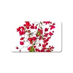 Red Petals Magnet (name Card)