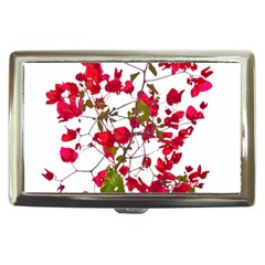 Red Petals Cigarette Money Case