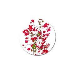 Red Petals Golf Ball Marker 4 Pack by dflcprints