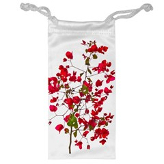 Red Petals Jewelry Bag
