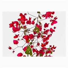 Red Petals Glasses Cloth (large)