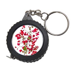 Red Petals Measuring Tape