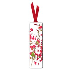 Red Petals Small Bookmark