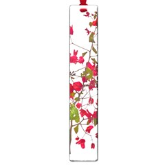 Red Petals Large Bookmark by dflcprints
