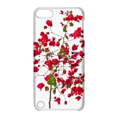 Red Petals Apple Ipod Touch 5 Hardshell Case With Stand by dflcprints