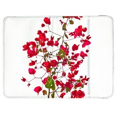 Red Petals Samsung Galaxy Tab 7  P1000 Flip Case by dflcprints