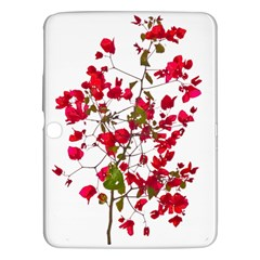 Red Petals Samsung Galaxy Tab 3 (10 1 ) P5200 Hardshell Case  by dflcprints