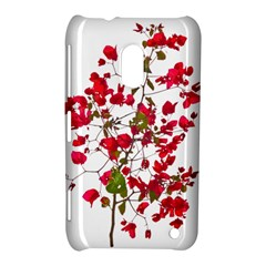 Red Petals Nokia Lumia 620 Hardshell Case by dflcprints