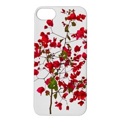 Red Petals Apple Iphone 5s Hardshell Case by dflcprints