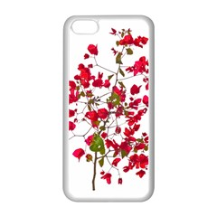 Red Petals Apple Iphone 5c Seamless Case (white) by dflcprints