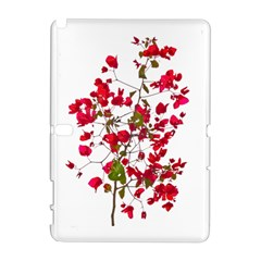 Red Petals Samsung Galaxy Note 10 1 (p600) Hardshell Case by dflcprints