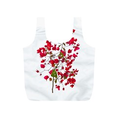 Red Petals Reusable Bag (s)
