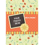 Fanciful Fun Card-Invitation 2 - Greeting Card 5  x 7