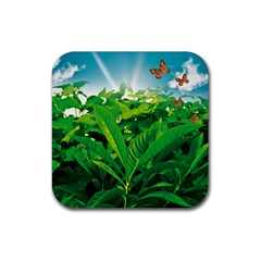 Nature Day Drink Coasters 4 Pack (square) by dflcprints