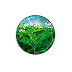 Nature Day Golf Ball Marker 4 Pack (for Hat Clip) by dflcprints