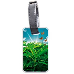 Nature Day Luggage Tag (one Side) by dflcprints