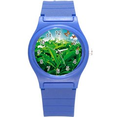 Nature Day Plastic Sport Watch (small) by dflcprints