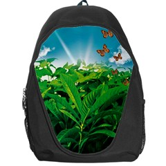 Nature Day Backpack Bag by dflcprints