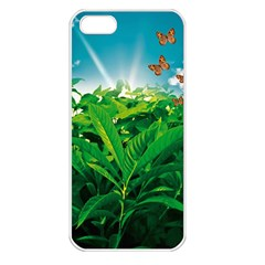 Nature Day Apple Iphone 5 Seamless Case (white) by dflcprints