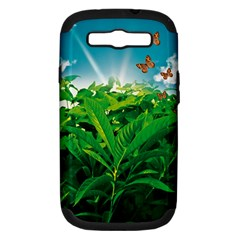Nature Day Samsung Galaxy S Iii Hardshell Case (pc+silicone)