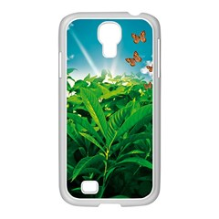 Nature Day Samsung Galaxy S4 I9500/ I9505 Case (white) by dflcprints