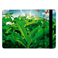 Nature Day Samsung Galaxy Tab Pro 12 2  Flip Case by dflcprints