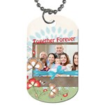family - Dog Tag (Two Sides)