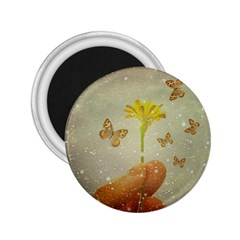 Butterflies Charmer 2 25  Button Magnet by dflcprints