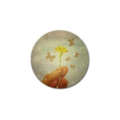 Butterflies Charmer Golf Ball Marker
