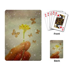 Butterflies Charmer Playing Cards Single Design by dflcprints