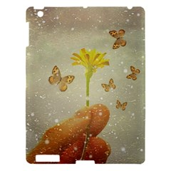 Butterflies Charmer Apple Ipad 3/4 Hardshell Case by dflcprints