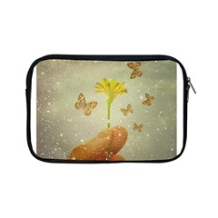 Butterflies Charmer Apple Ipad Mini Zippered Sleeve by dflcprints