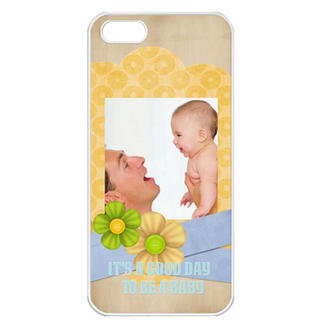 Baby By Baby   Apple Iphone 5 Seamless Case (white)   Omim72xa9hjo   Www Artscow Com Front