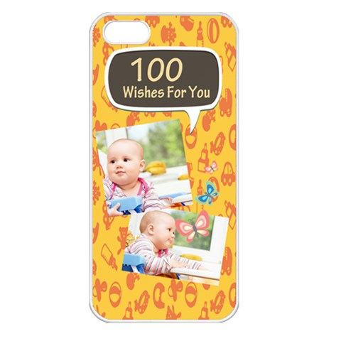 Baby By Baby   Apple Iphone 5 Seamless Case (white)   1yriqn8bmd5p   Www Artscow Com Front