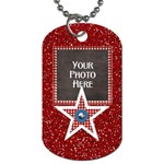 Celebrate America 2 side dog tag 1 - Dog Tag (Two Sides)